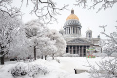 St. Isaac's Cathedral Royalty Free Stock Photo