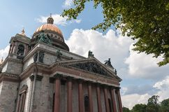 St. Isaac's Cathedral Stock Photo