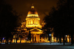 St. Isaac's Cathedral. In downtown St. Petersburg Royalty Free Stock Photos