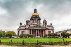 St. Isaac`s Cathedral is the largest Orthodox church in St. Petersburg. Located on St. Isaac`s Square Stock Images