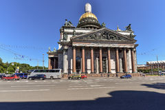 St. Isaac`s Cathedral is the most famous church in St. Petersburg Royalty Free Stock Photography