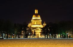 St. Isaac`s Cathedral Royalty Free Stock Photo