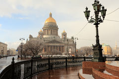St.Isaac's Cathedral Stock Photography
