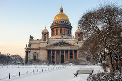 St Isaac's Cathedral, St Petersburg Stock Image