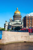 St Isaac's Cathedral, St Petersburg, Russia Stock Photo