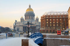 St Isaac's Cathedral, St Petersburg, Russia Royalty Free Stock Photography