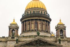 St. Isaac& x27;s Cathedral in Russia. St. Petersburg Stock Image