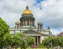 St-Isaac's Cathedral Stock Photography