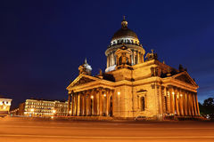 St. Isaac's Cathedral in Saint-Petersburg Stock Image