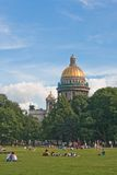 St. Isaac's Cathedral Saint-Petersburg Royalty Free Stock Images