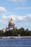 St. Isaac's Cathedral in Saint Petersburg Royalty Free Stock Image