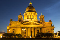 St. Isaac's Cathedral in Saint-Petersburg, Royalty Free Stock Image