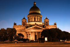 St. Isaac`s Cathedral in Saint - Petersburg. Russia. St. Petersburg. St. Isaac`s Cathedral - one of the largest church buildings of the world designed by the Royalty Free Stock Image