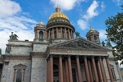 St Isaac's Cathedral, Saint Petersburg, Russia Royalty Free Stock Photo