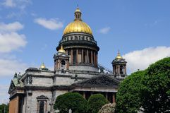 St Isaac's Cathedral in St Petersburg Royalty Free Stock Images