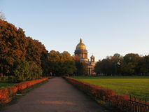 St. Isaac's Cathedral in St. Petersburg. Royalty Free Stock Photos