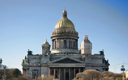 St. Isaac's Cathedral in St. Petersburg Royalty Free Stock Photo