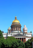 St. Isaac's Cathedral in St. Petersburg Stock Images