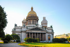 St. Isaac's Cathedral in St. Petersburg. Royalty Free Stock Photography