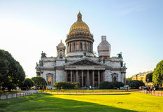 St. Isaac's Cathedral in St. Petersburg. Stock Photo