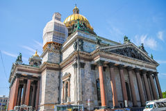 St. Isaac's Cathedral in St. Petersburg. Stock Images