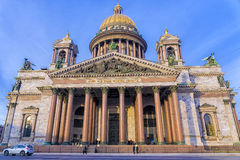 St. Isaac`s Cathedral in St. Petersburg, Russia Royalty Free Stock Photos
