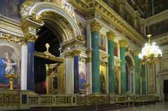 St. Isaac's cathedral in St. Petersburg, Russia Royalty Free Stock Photo