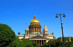 St. Isaac's Cathedral in St. Petersburg Royalty Free Stock Images