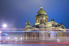 St. Isaac's cathedral in St.Petersburg Royalty Free Stock Images