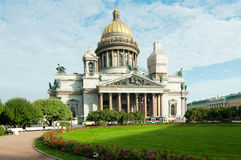 St Isaac's (Isaak) Cathedral St Petersburg royalty free stock image