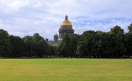 St Isaac ` s katedra w St Petersburg obrazy royalty free