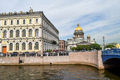 St. Isaac's square in St. Petersburg Royalty Free Stock Photos