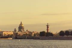 St Isaac ` s van St. Petersburg Kathedraal Royalty-vrije Stock Foto