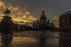 St. Isaac& x27;s Cathedral, St. Petersburg, Russia Stock Photos