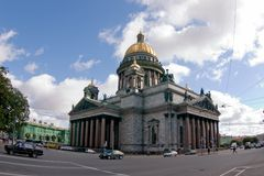 St. Isaak Cathedral. Saint-Petersburg. St. Isaak Cathedral Royalty Free Stock Photography