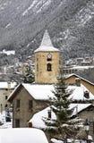St. Iscle i St. Victoria in La Massana. Principality of Andorra Stock Photo