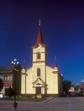 St. Ishtvan church in Tyachiv, Ukraine. St. Ishtvan roman catholic chrch in Tyachiv, Ukraine. Built in 1780 Stock Images