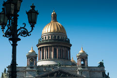 St Issacs cathedral in St Petersburg Stock Photo