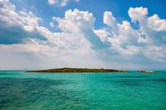 St. Ivan Island. Largest Bulgarian island in the Black Sea stock images