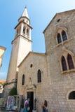 St. Ivan in the old Budva, Montenegro Stock Photo