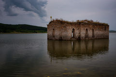 St. Ivan Rilski Church, Bulgaria. St. Ivan Rilski Church, Jrebchevo Dam, Bulgaria royalty free stock photo