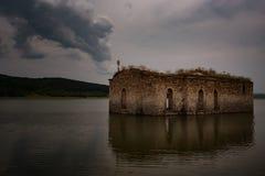 St. Ivan Rilski Church, Bulgaria. St. Ivan Rilski Church, Jrebchevo Dam, Bulgaria royalty free stock images