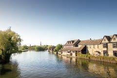 ST Ives σε Cambridgeshire Αγγλία Στοκ εικόνα με δικαίωμα ελεύθερης χρήσης