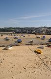 St Ives Cornwall. A Landscape of St Ives in cornwall Royalty Free Stock Photo