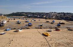 St Ives Cornwall. A Landscape of St Ives in Cornwall Royalty Free Stock Photos
