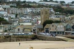 St Ives Cornwall Arkivbilder