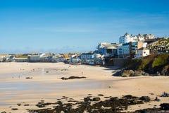 St Ives Cornwall de plage de Porthmeor image libre de droits