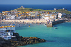 St Ives in Cornwall, Engeland Royalty-vrije Stock Foto's