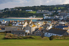St Ives in Cornwall, England Royalty Free Stock Photo
