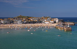St Ives in Cornwall, England Stock Photography
